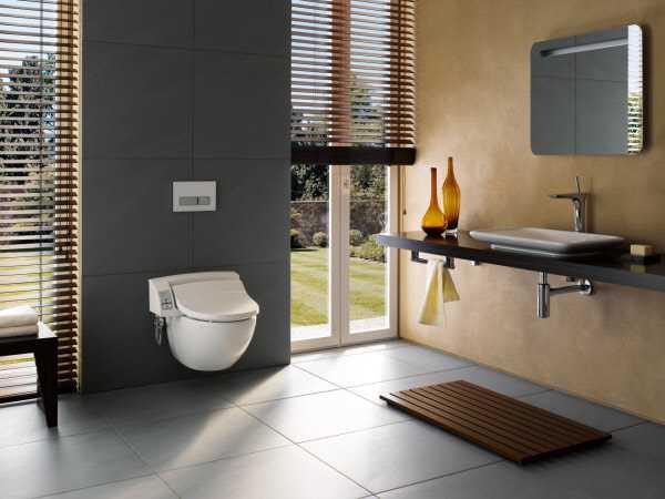 Toiletten Dusche Aufsatz : AquaClean 5000 Plus Dusch-WC Aufsatz mit Dusche Foen und Absaugung